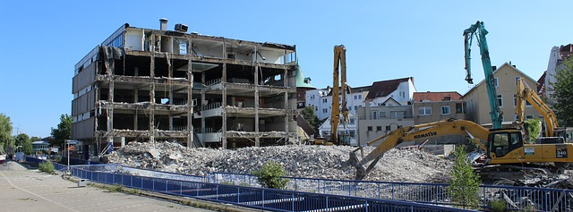 Tear Down Building