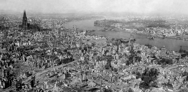 war ruins city bombed