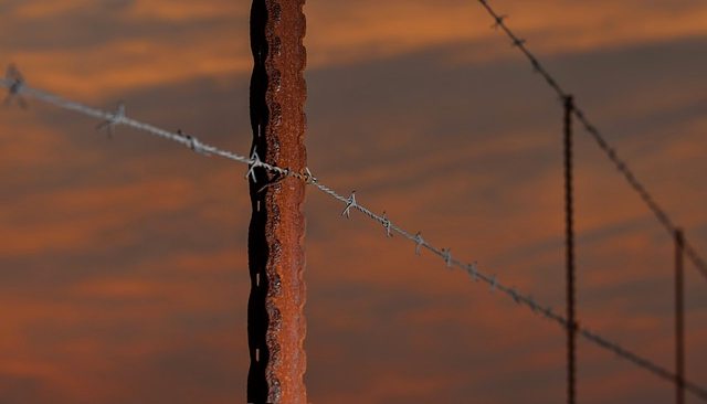 fence barbed wire